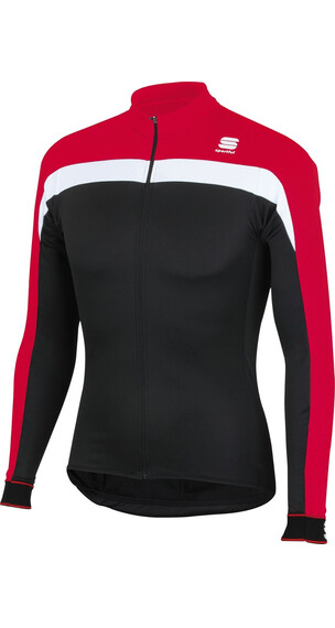Sportful Pista Thermal Jersey Men Red/Black/White